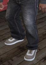 SubUrban (V - Beżowe buty skejtowskie)