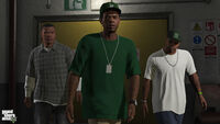 Franklin, Lamar et Stretch GTAV NG