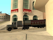 The Ranch's Shop and the semitrailer