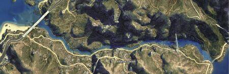 Cassidy Creek (V - mapa)
