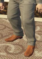 Ponsonbys (V - Miedziane buty wsuwane)