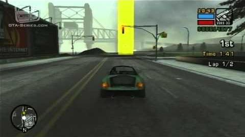 GTA Liberty City Stories - Walkthrough - Street Race - Wi-Cheetah Run-0