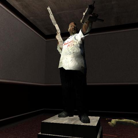 تمثال بيج سموك في <a class=