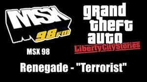 "GTA Liberty City Stories - MSX 98 Renegade - ""Terrorist"""
