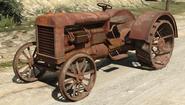 Stanley Tractor vue avant GTAV