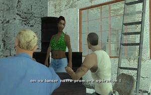 Zeroing In GTA San Andreas (objectif)
