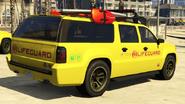 4x4 garde-cote vue-arrière GTAV