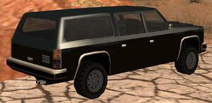 FBI Rancher GTA San Andreas (vue arrière)