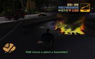 GTA III Égő Diablo holttestek