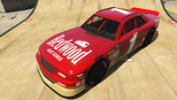 HotringSabre-GTAO-Liveries-1-Redwood-Red-FrontQuarter