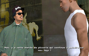 Ryder (mission) GTA San Andreas (consigne)