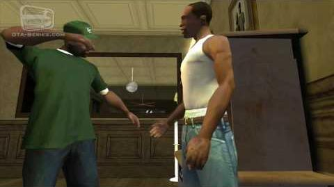 GTA San Andreas - Walkthrough - Mission -27 - The Green Sabre (HD)