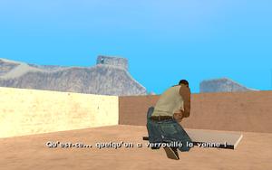 Dam and Blast GTA San Andreas (impasse)