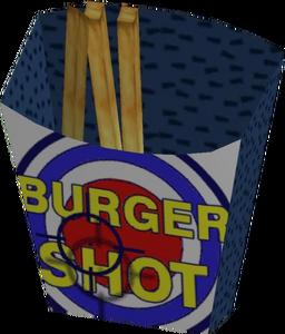 Burger Shot Fry Box