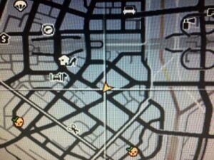 Central Los Santos Medical Center GTAV Location map