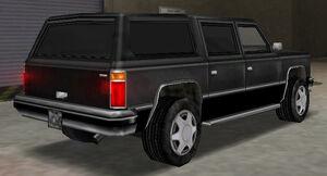 FBI Rancher GTA Vice City (vue arrière)