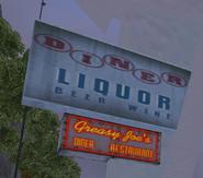 Placa Greasy Joe's