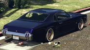 Sabre Turbo Custom vue derrière