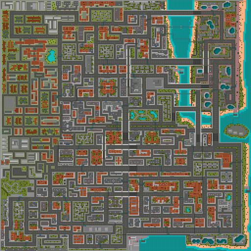 Vice City (GTA1) (mapa - 2)