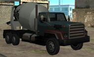 Cement Truck GTA San Andreas