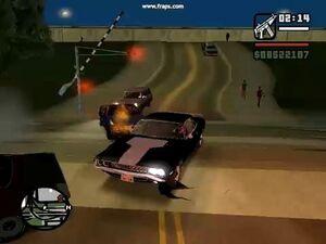 GTA San Andreas -messed up signal