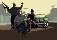 Grove Street Family Artwork
