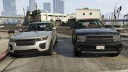 Comparaison Baller première et deuxième génération GTA V