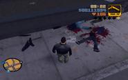 GTA III dead bodies
