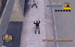 Mort GTA III