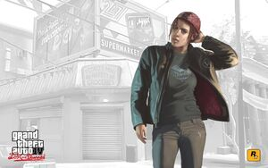 Ashley Butler GTA IV The Lost and Damned (artwork)