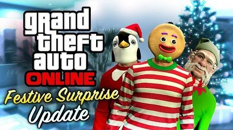 GTA Online - Festive Surprise Update All DLC Contents