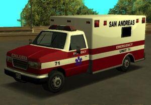 Ambulance gtasa front