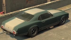 Sabre GT GTA IV (vue arrière)