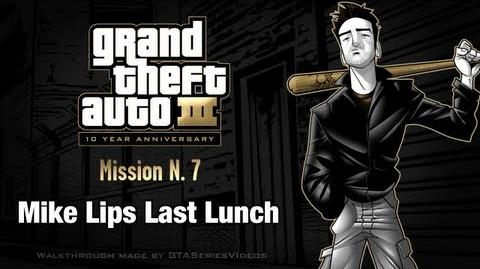 GTA 3 - iPad Walkthrough - Mission 7 - Mike Lips Last Lunch