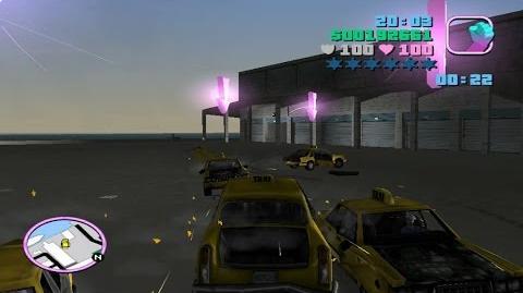 GTA Vice City- Taximagedon