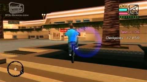 GTA Vice City Stories — Walkthrough — Mashin' up the Mall — Checkpoint Race
