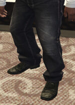Ponsonbys (V - Czarne buty)