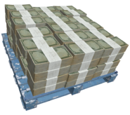 Cash pile-GTAIV