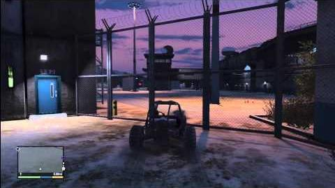 GTA 5 (EASTER EGG) INSIDE THE PRISON WITHOUT POLICE TOUR (Bolingbroke Penitentiary)