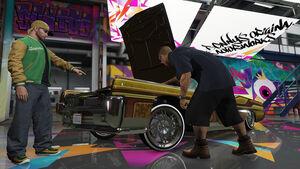 GTA Online Lowriders Benny's Original Motor Works