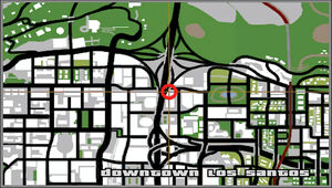 Inside Track Downtown GTA San Andreas (carte)