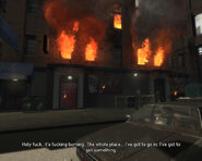 Roman's Sorrow (GTA4) (burning safehouse)