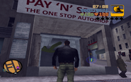 GTA III new Pay 'n' Spray