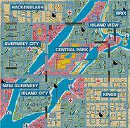 Liberty City GTA 1 Plan
