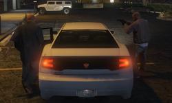 Водитель у бандитов