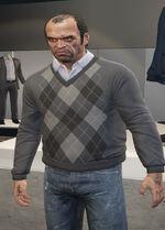 Ponsonbys (V - Ciemnoszary sweter)
