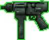 S-Uzi Machine Gun (GTA2 - HUD)