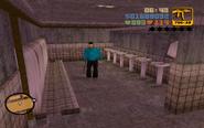 Claude a WC-ben