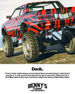 Faction Custom Donk Publicité
