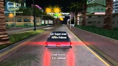 GTA Vice City Stories — End Credits